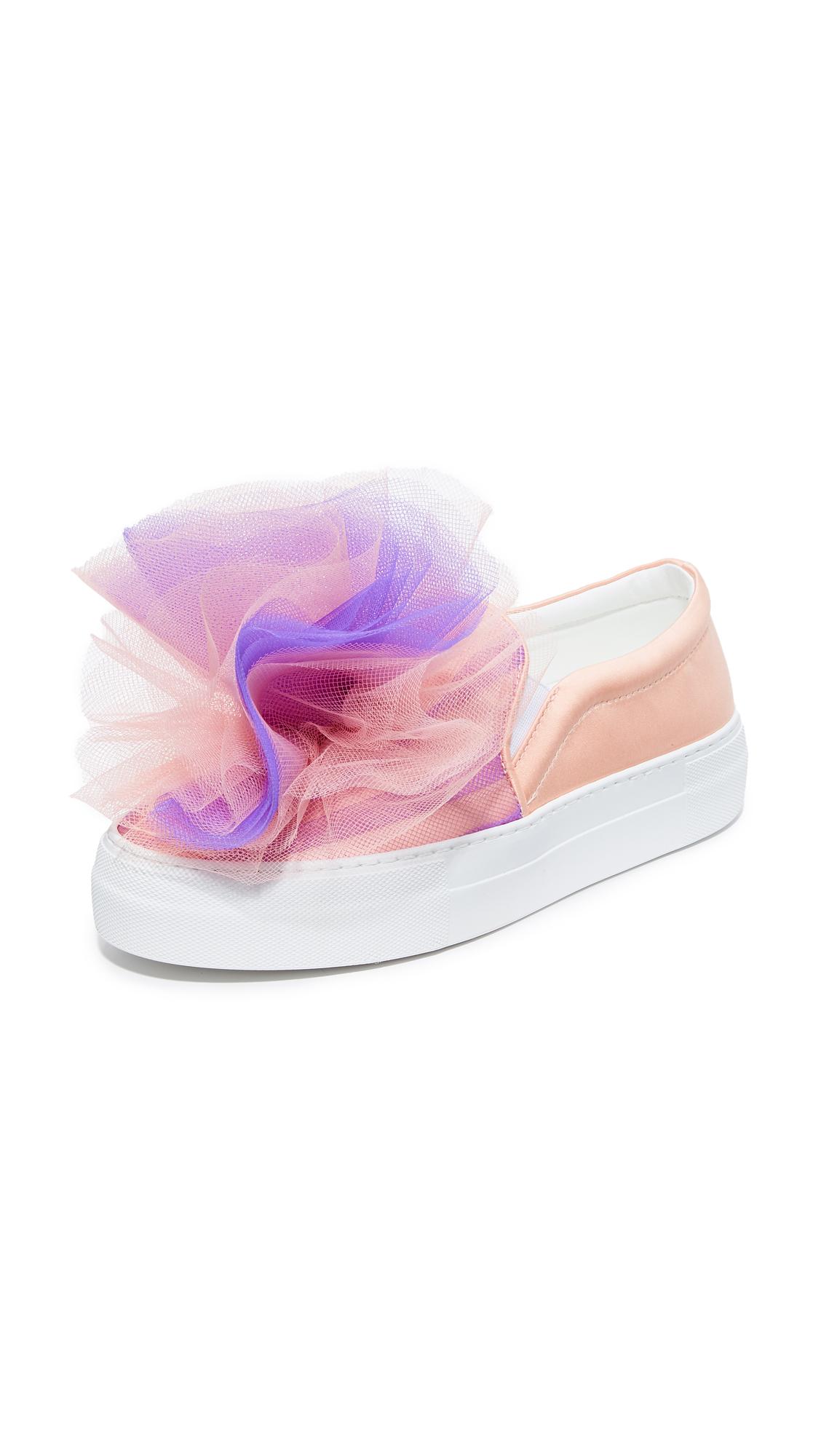 Joshua Sanders Tulle Sneakers - Pink/Purple