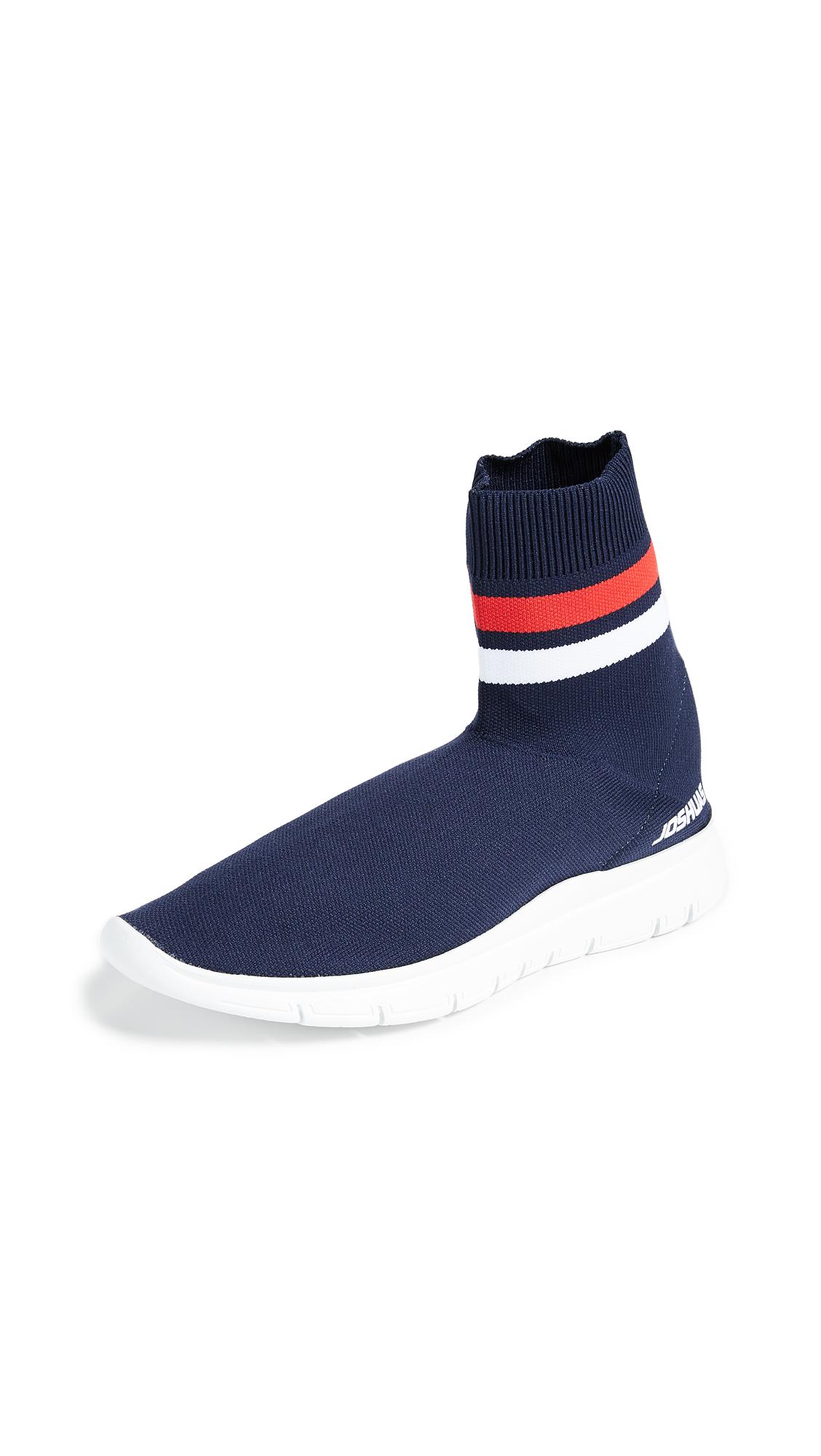 Joshua Sanders Jump Sock Booties - Navy
