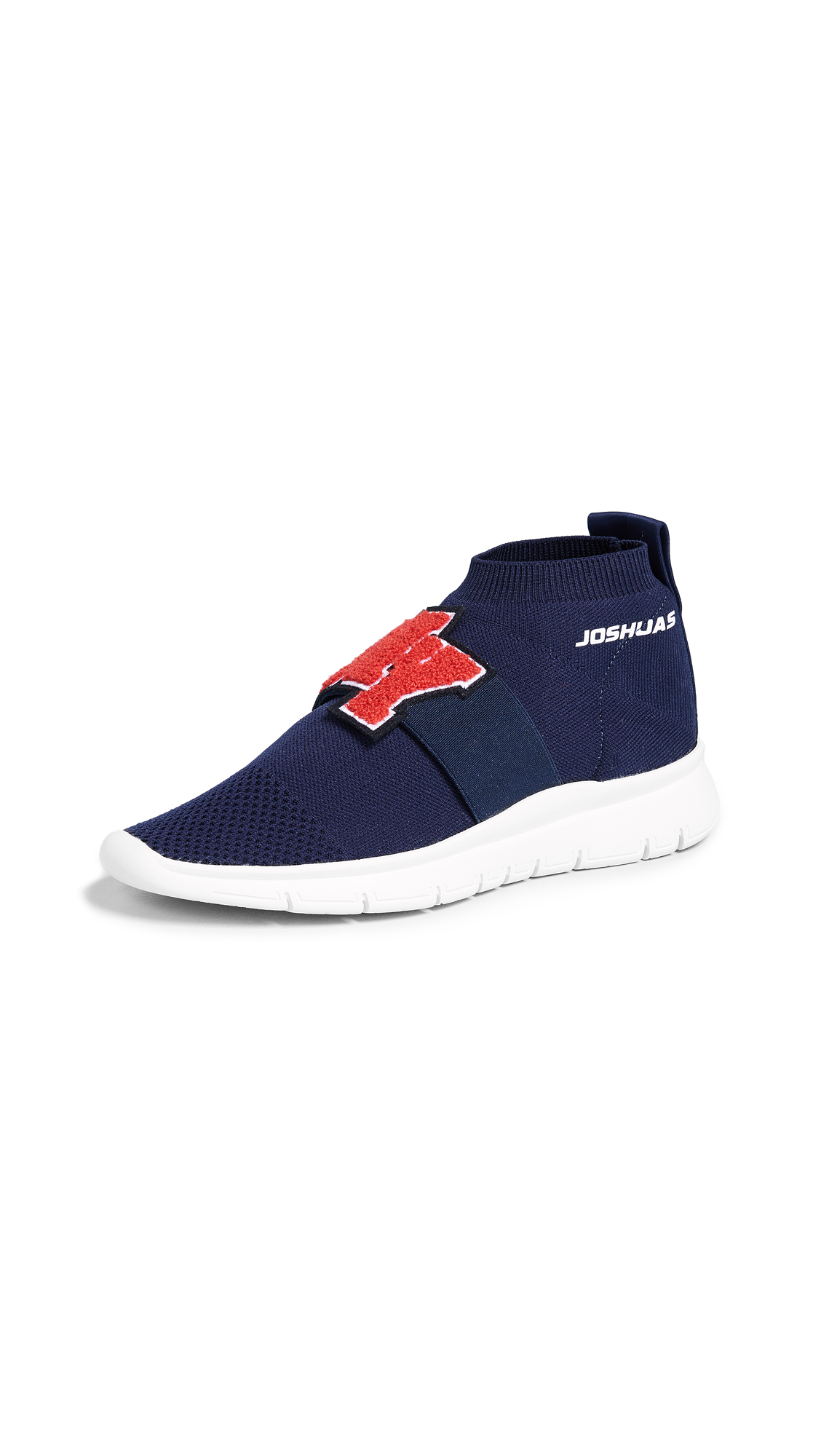 Joshua Sanders University NY Sock Runner Shoes - Blue
