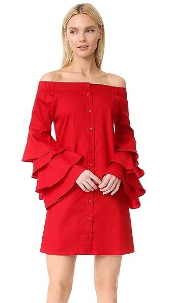 JOUR/NE Bella Dress - Red