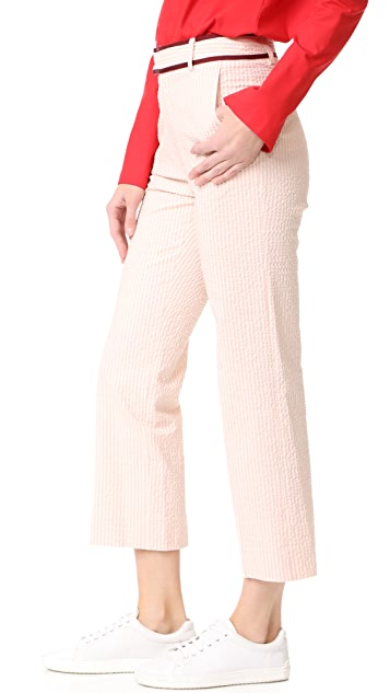 JOUR/NE Seersucker Trousers