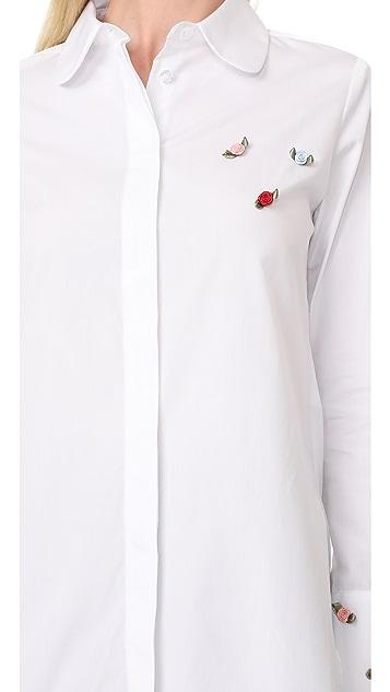 JOUR/NE Roses Shirt