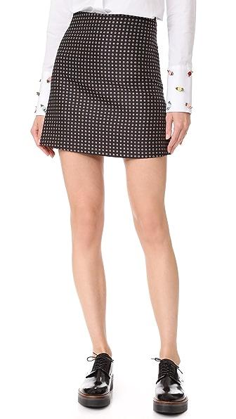 JOUR/NE Tie Skirt - Black