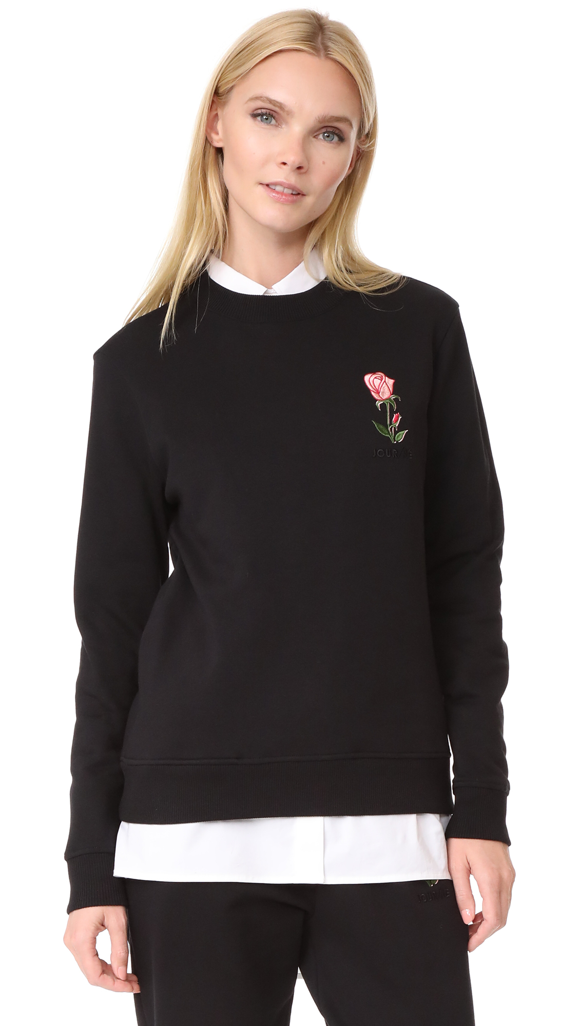 JOUR/NE Rose Sweatshirt