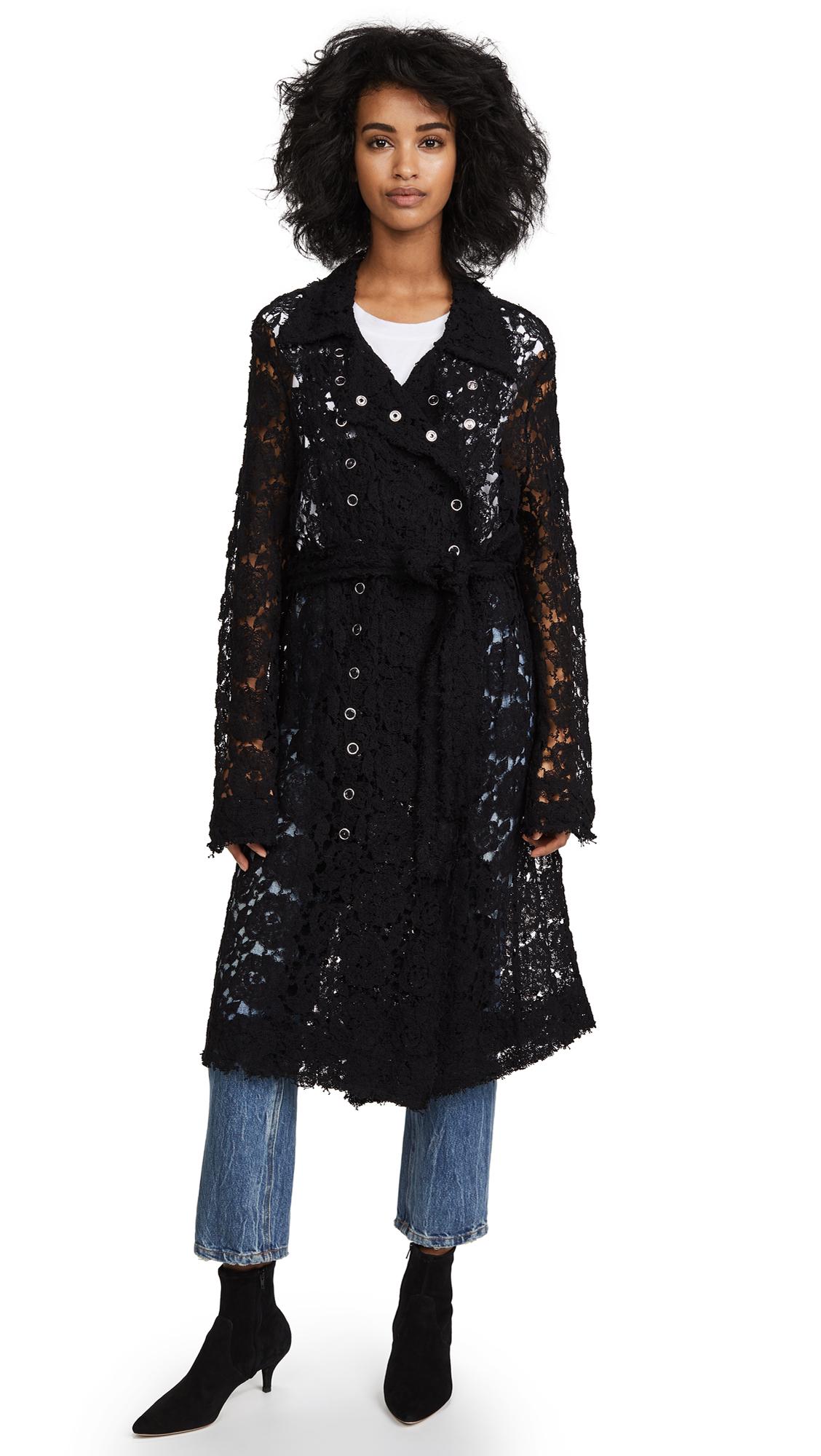 Jourden Flora Trench Coat