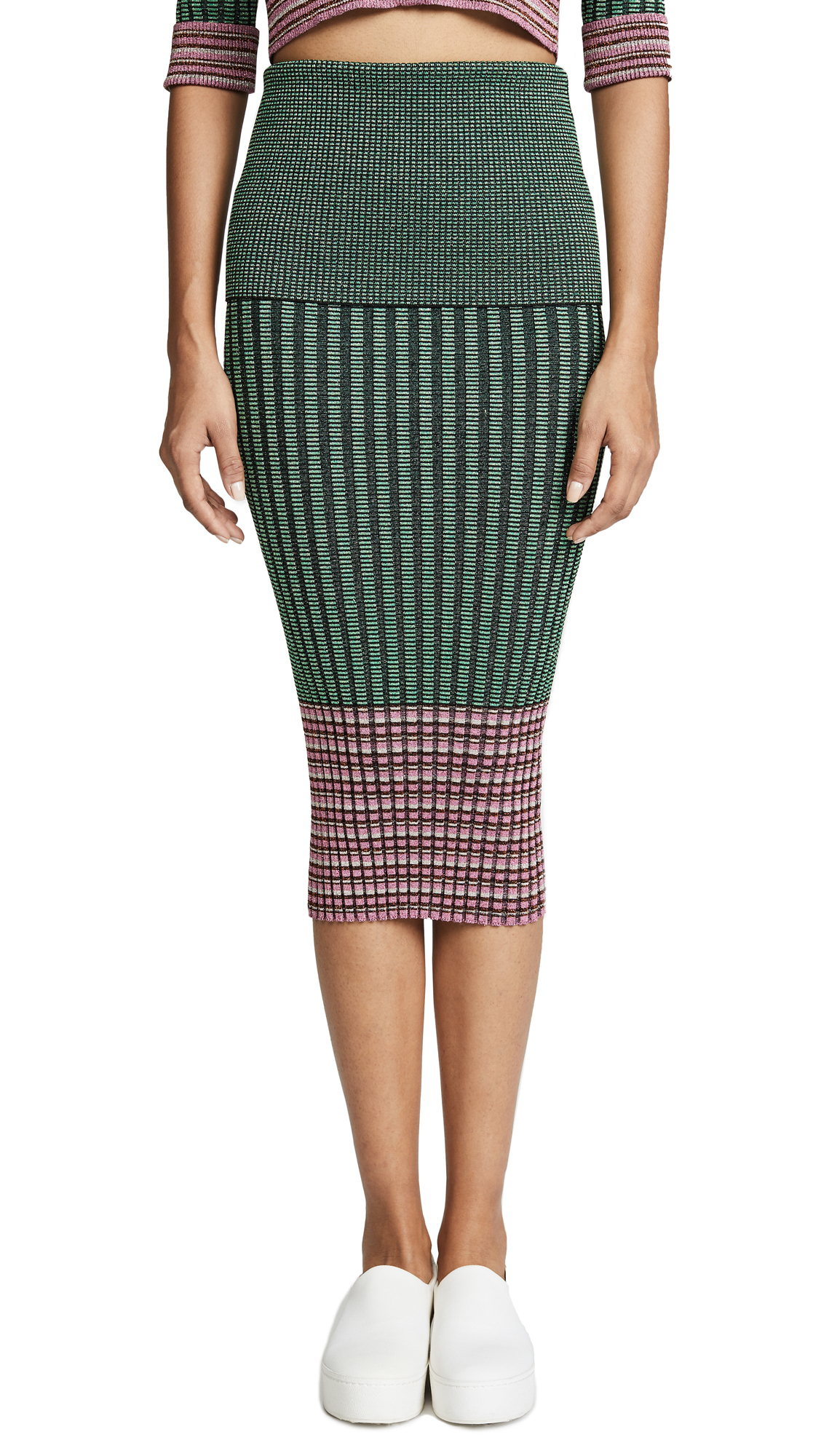 Jourden Ribbed Skirt