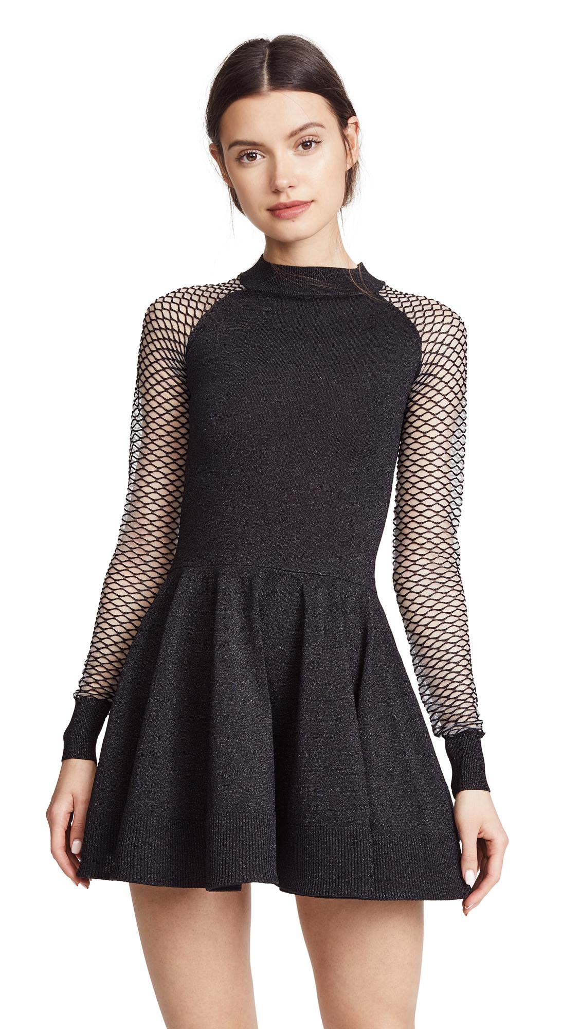 Jourden Metallic Circle Dress