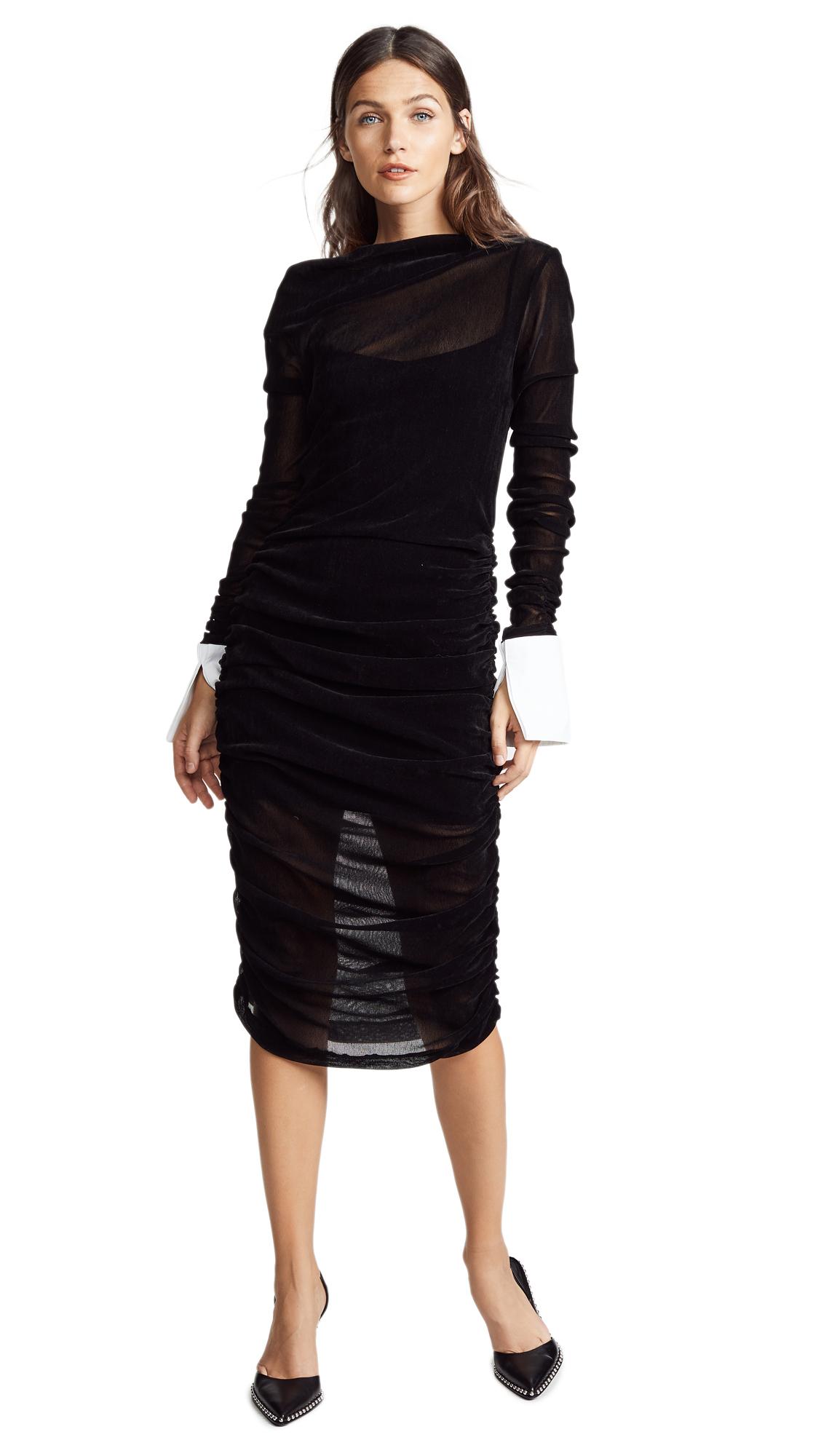 Jourden Velvet Dress