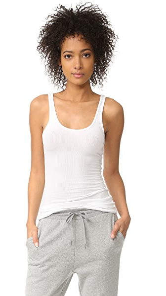 James Perse Daily Tank - White