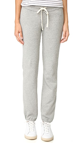 James Perse Genie Sweatpants - Heather Grey