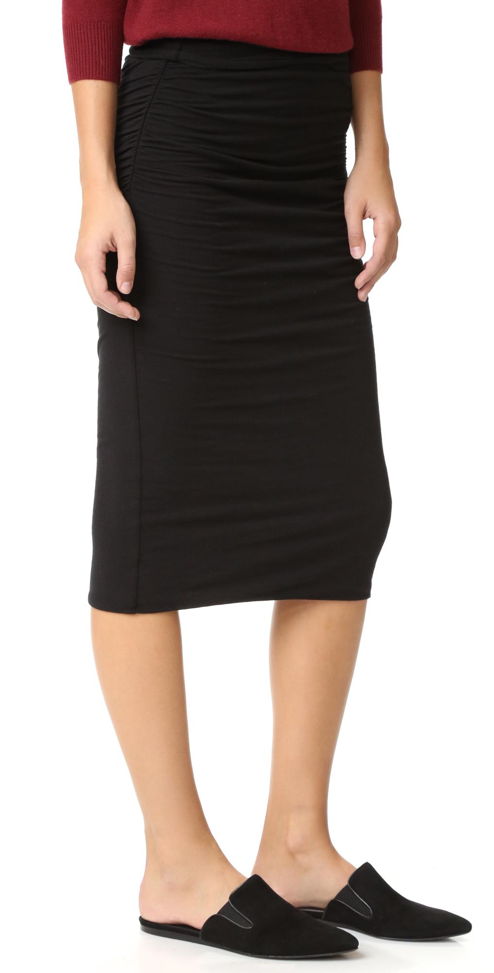 aef3b1e3b James Perse Shirred Tube Skirt | SHOPBOP
