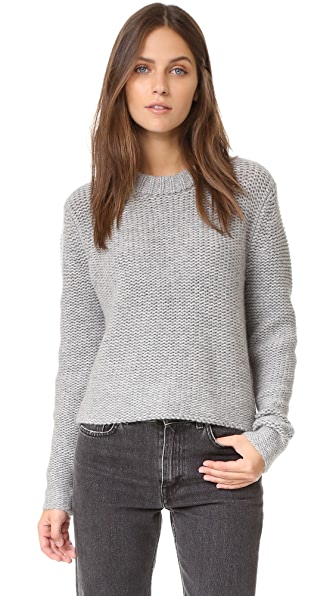 James Perse Cropped Cashmere Sweater