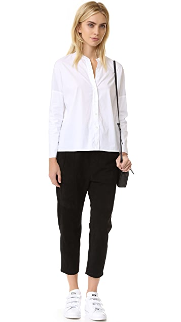 James Perse Double Layer Long Sleeve Shirt