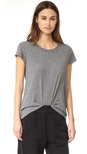James Perse Straight Hem Tee