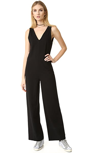 James Perse Palazzo Jumpsuit - Black