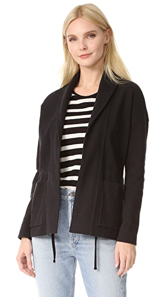 James Perse Shawl Collar Jacket - Black