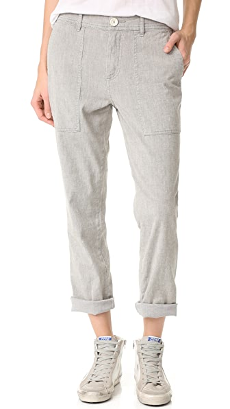 James Perse Relaxed Workwear Pants - Sage