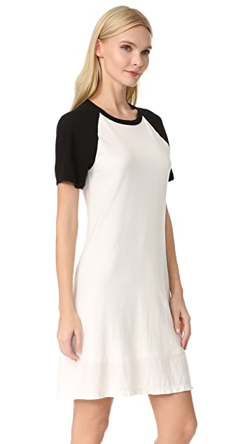 James Perse Flared Baseball Dress