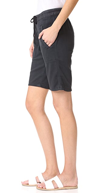 James Perse Super Soft Twill Utility Shorts