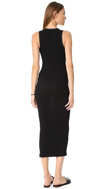 James Perse Satin Binding Tubular Dress