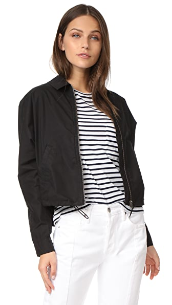 James Perse Batwing Bomber Jacket - Black