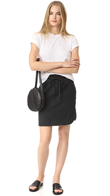 James Perse Pull On Fleece Skirt