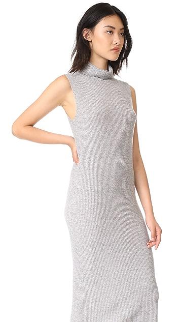 James Perse Cashmere Turtleneck Dress