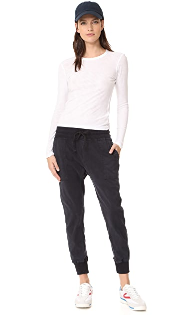 James Perse Contrast Joggers