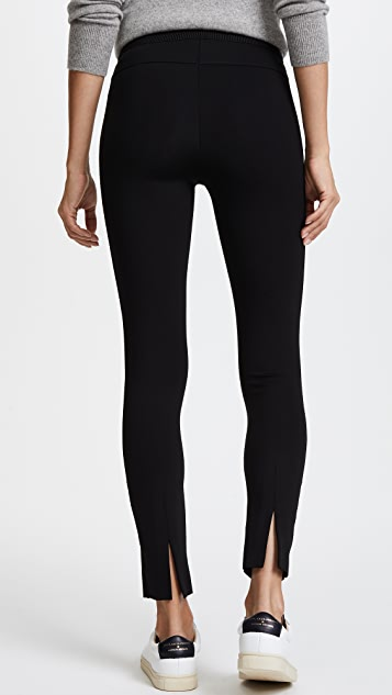 James Perse Cropped Scuba Trousers