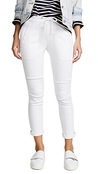 James Perse Super Soft Twill Pants In White