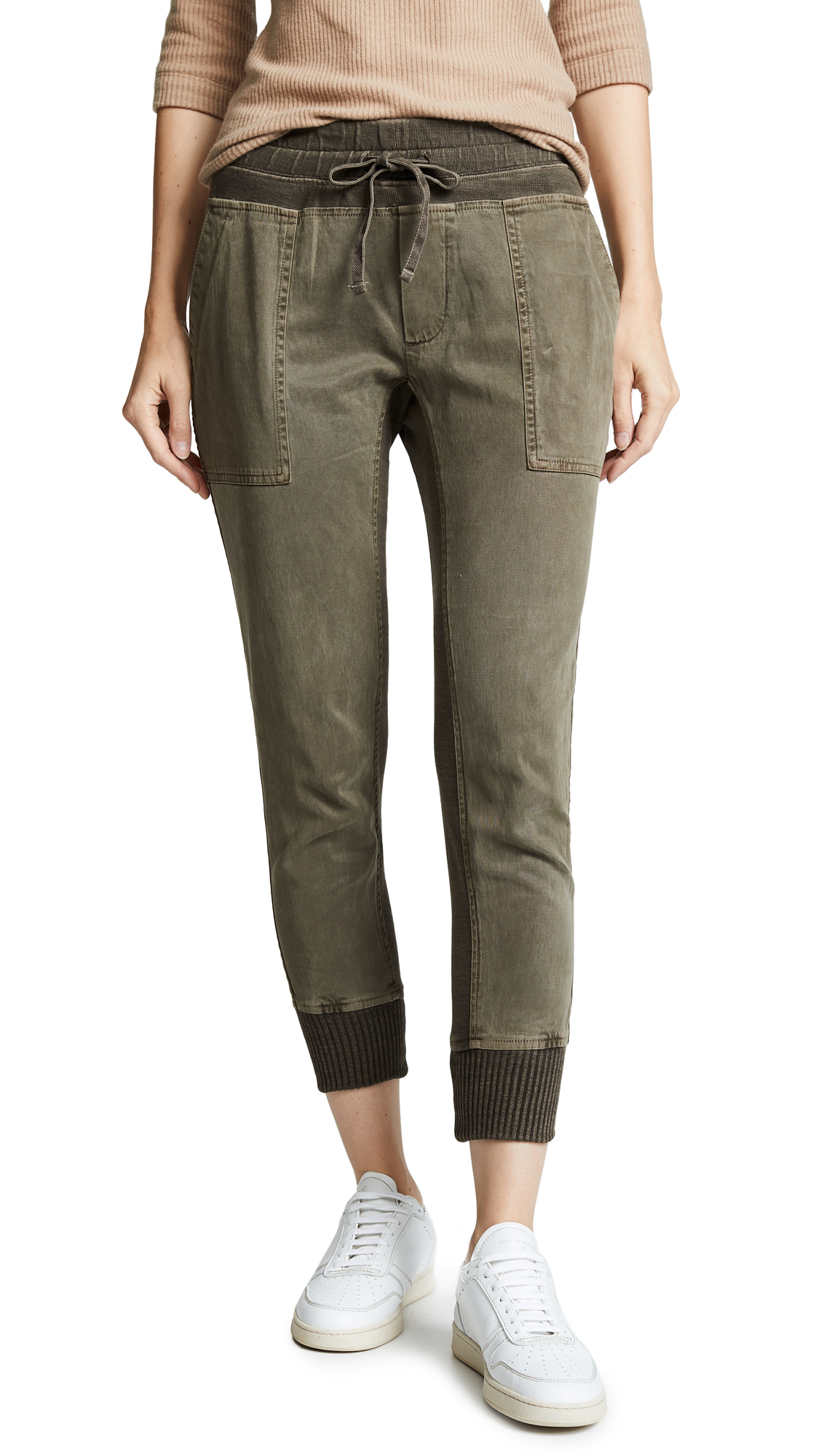 James Perse Mixed Media Pants
