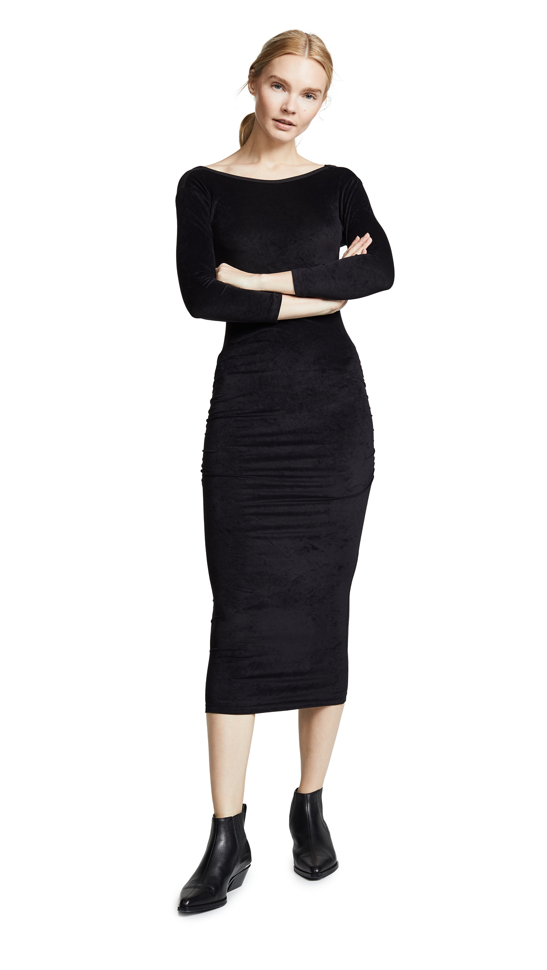 James Perse Fitted Low Back Dress - 30% Off Sale