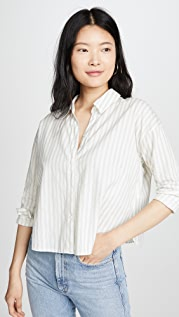 James Perse Striped Relaxed Shirt