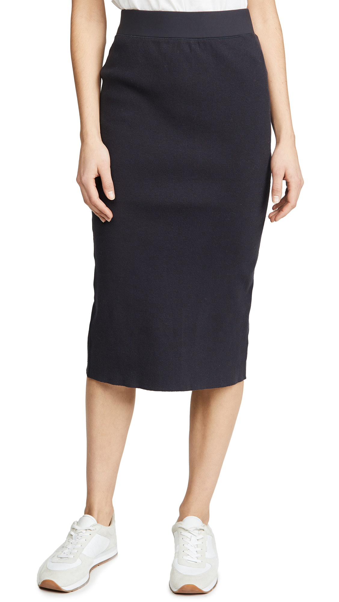 Buy James Perse online - photo of James Perse Midi Rib Skirt