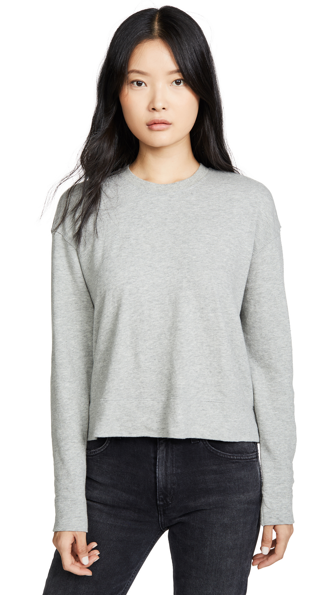 Buy James Perse online - photo of James Perse Relaxed Cropped Pullover