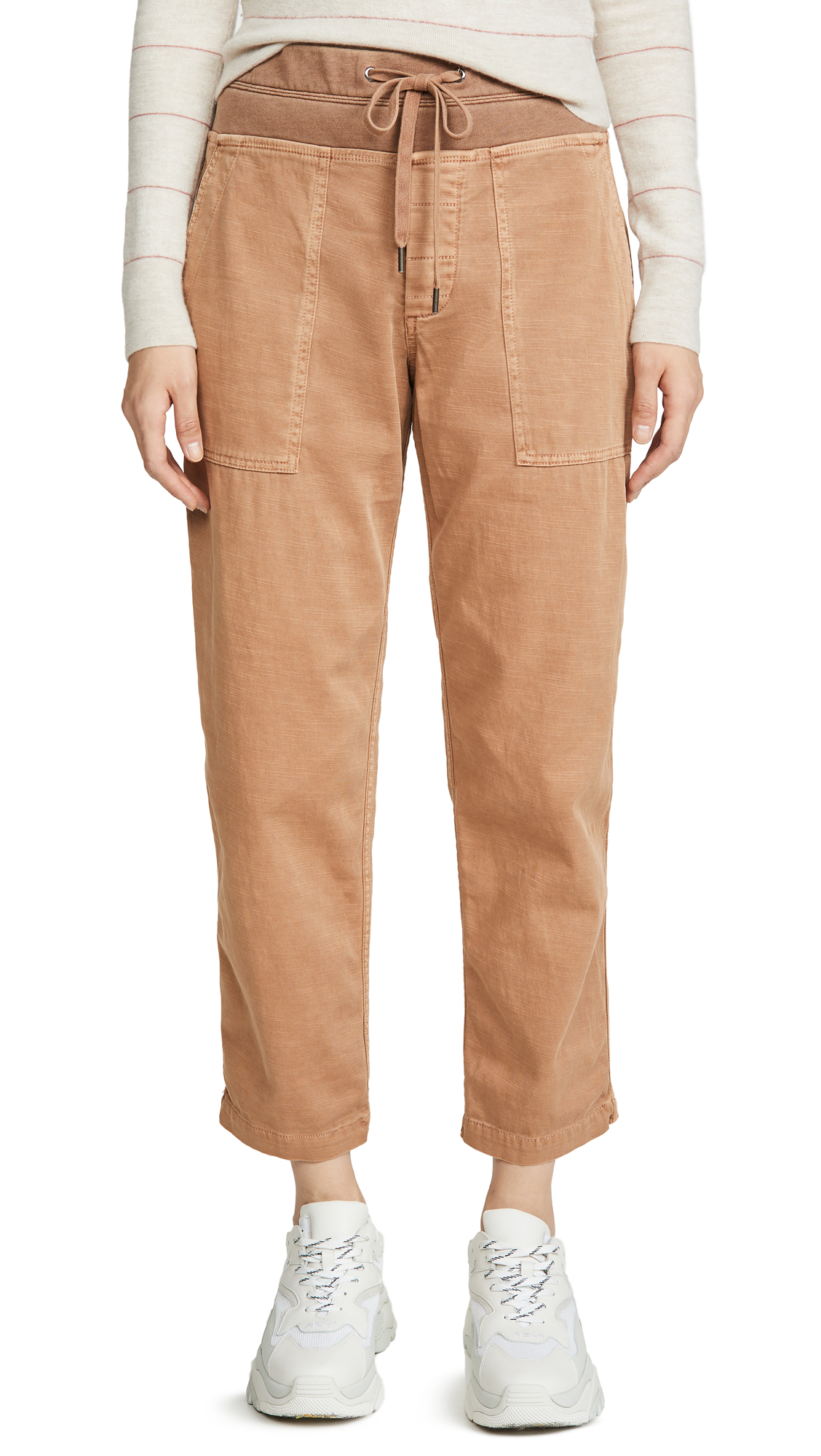 Buy James Perse online - photo of James Perse Pull On Clean Cargo Pants