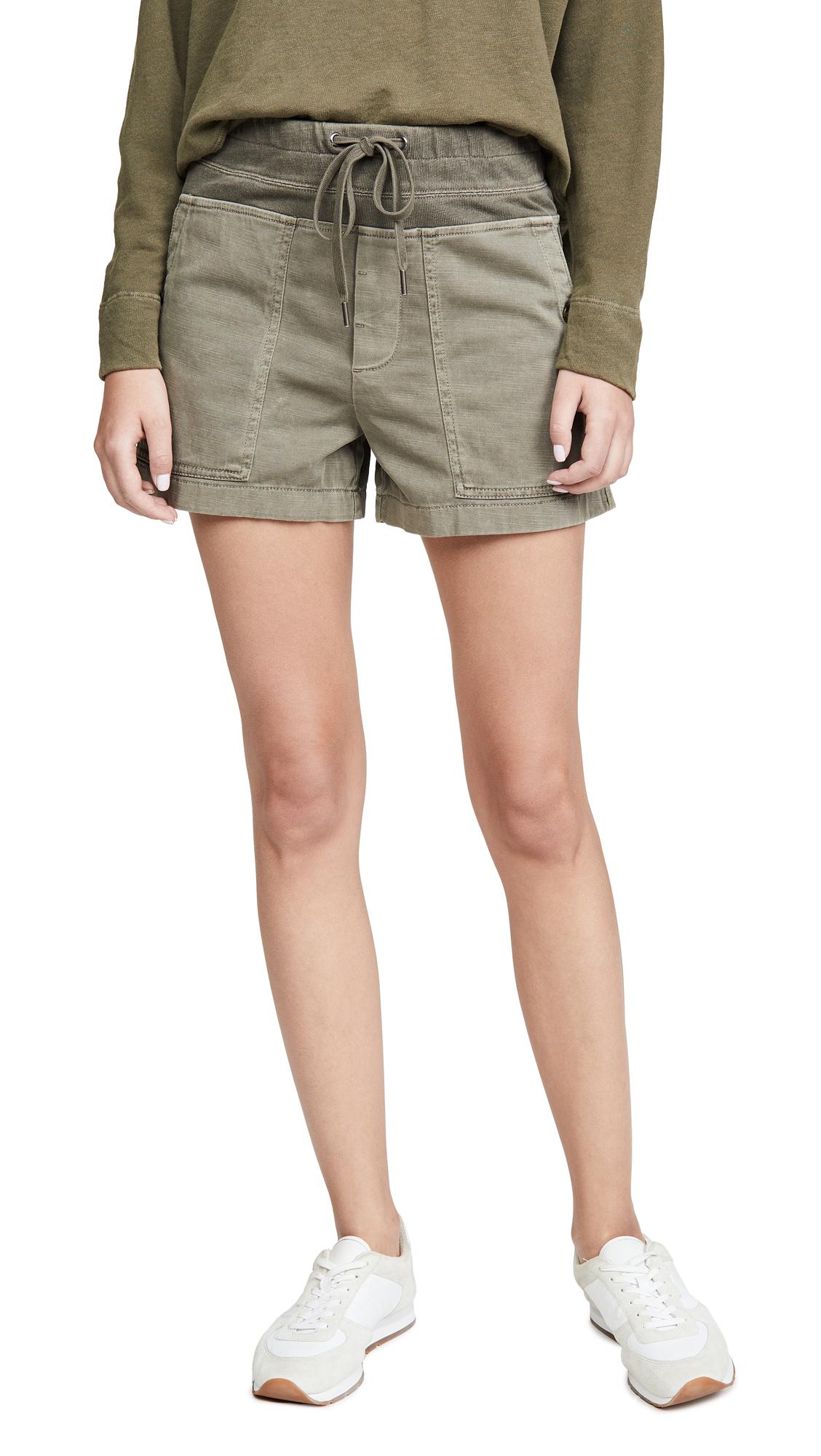 Buy James Perse online - photo of James Perse Cotton Slub Military Shorts