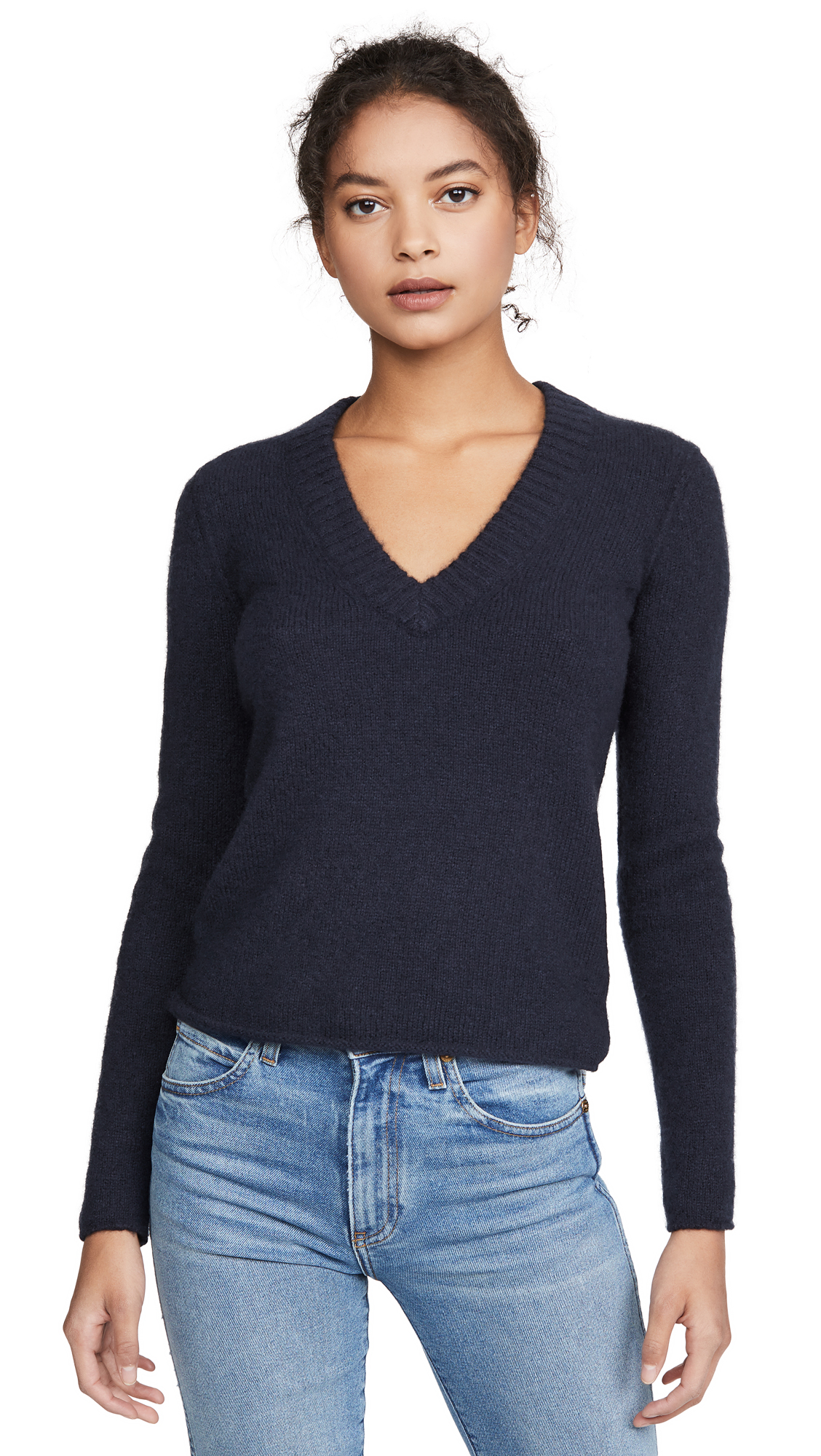 Buy James Perse online - photo of James Perse Luxe Cashmere V Neck