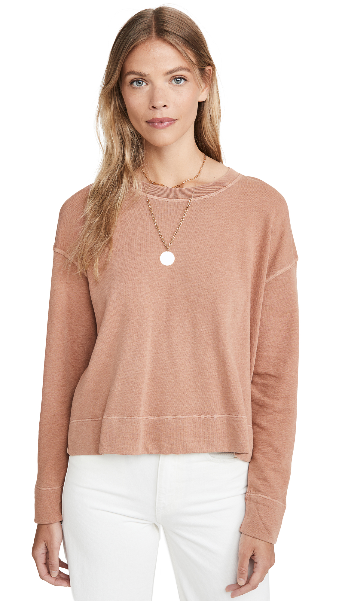 James Perse Relaxed Crop Pullover - 30% Off Sale