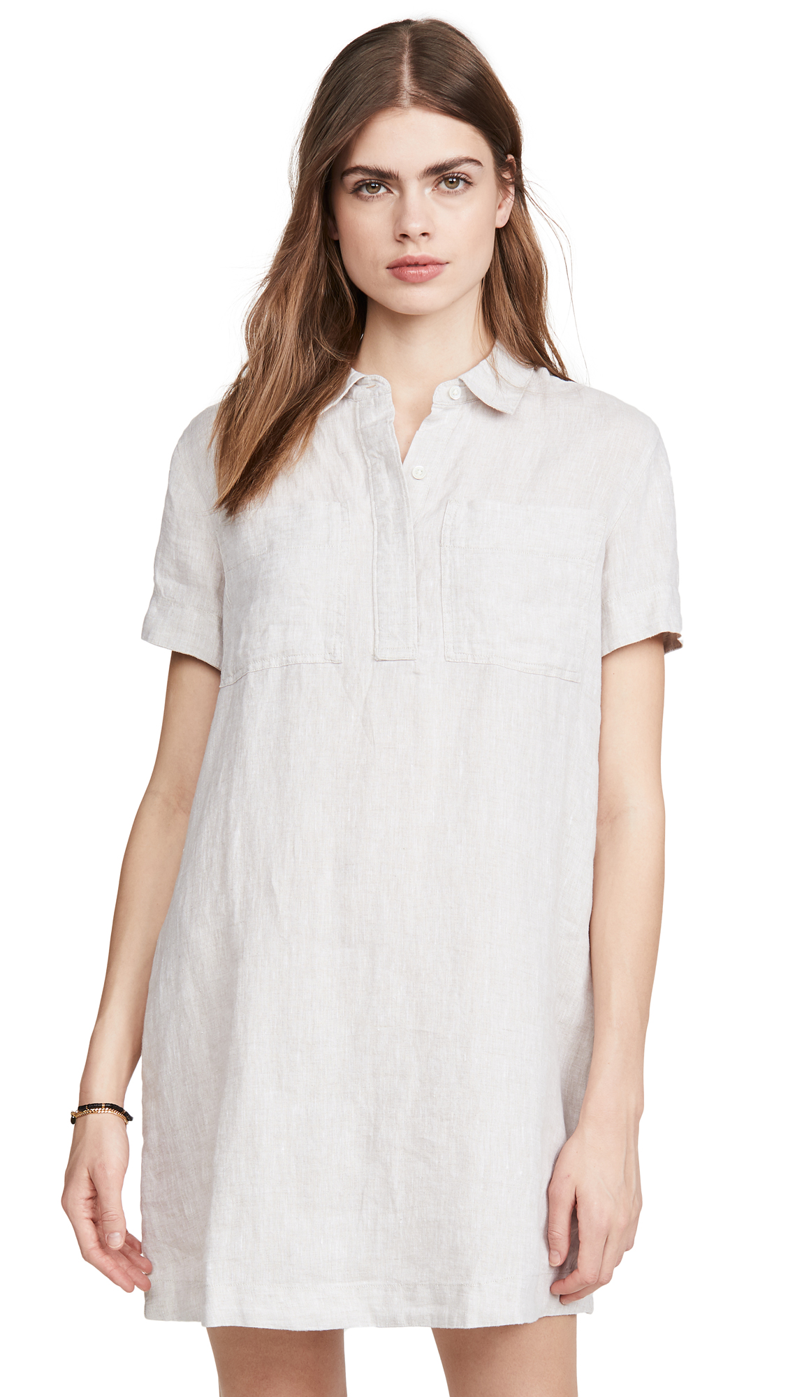 Buy James Perse Linen Pocket Shirtdress online beautiful James Perse Clothing, Dresses