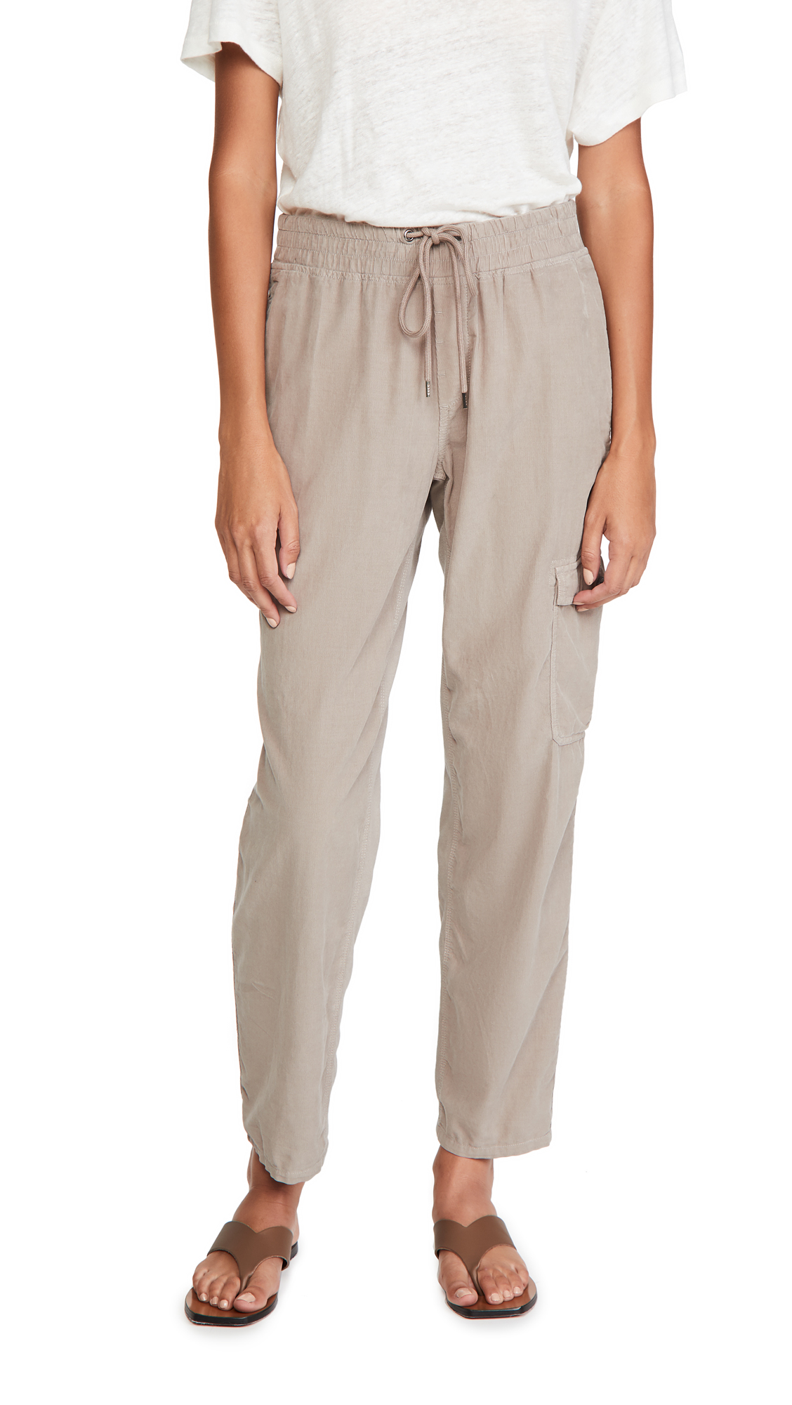 James Perse Cord Mixed Media Pants