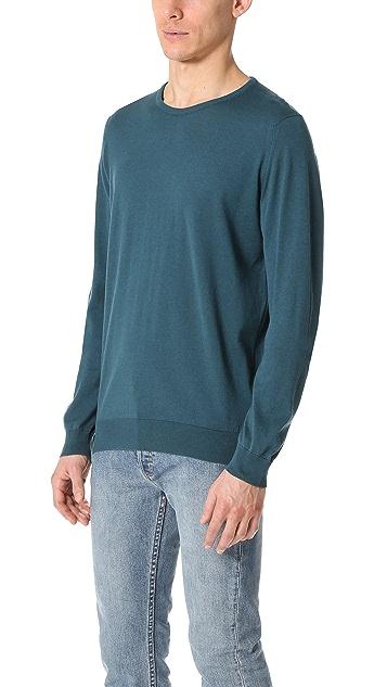 John Smedley Hatfield Crew Neck Sea Island Cotton Sweater