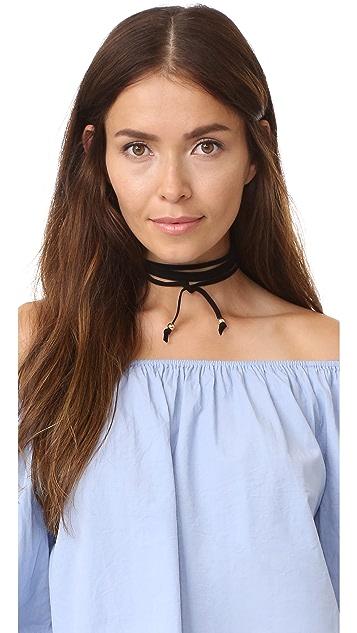 Jules Smith Wrap Choker Necklace