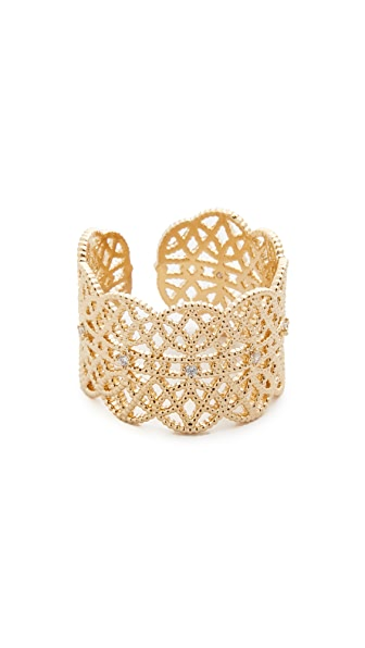 Jules Smith Lace Pave Ring Cuff