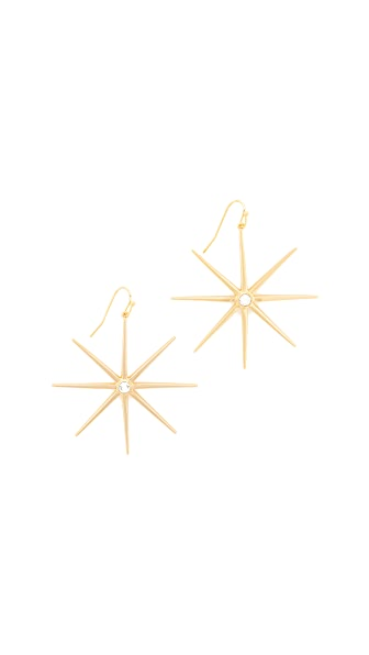 Jules Smith Supernova Earrings - Gold/Clear
