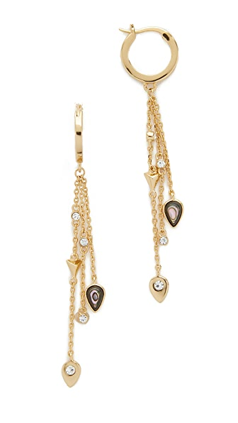 Jules Smith Owen Earrings - Gold/Abalone