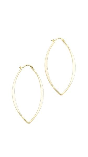 Jules Smith Gamma Hoop Earrings