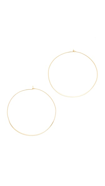 Jules Smith Suki Hoop Earrings - Gold