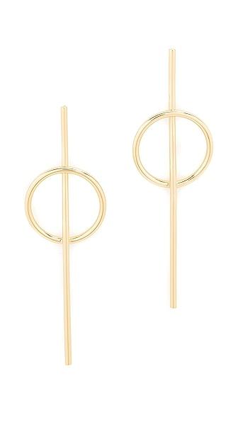 Jules Smith Morgan Earrings - Gold