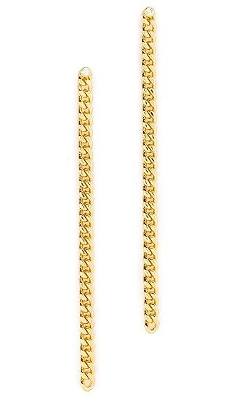 Jules Smith Bodhi Linear Drop Earrings - Gold